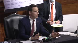 Sen. Hawley Produces Facebook Whistleblower Evidence That Leaves Zuckerberg SPEECHLESS at Hearing