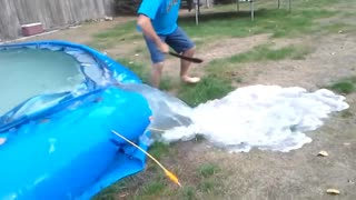 Swimming Pool Crash