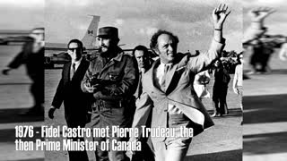 Justin Trudeau could be Fidel Castro's son