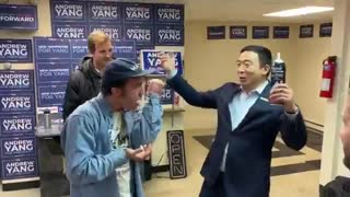 Watch 2020 Dem Presidential Candidate Celebrate Office Opening