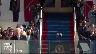 Joe Biden Gives His First Speech as President