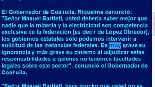 Mineros de Muzquiz fueron asesinados por corrupción de AMLO-Bartlett