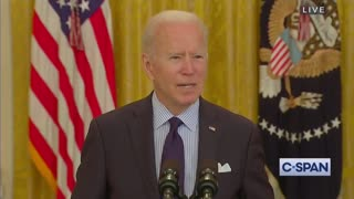 Vaccinated Biden Explains Why He Still Wears A Mask
