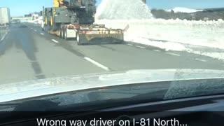 Wrong way driver in Scranton