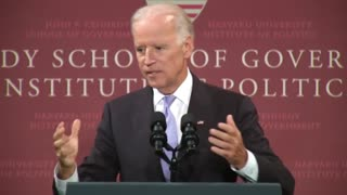 """Joe Biden: """"There's Nothing Special About Being An American"""""""