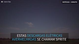 Vídeo mostra raro fenômeno no céu de Oklahoma