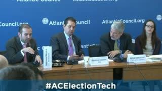 2016 Smartmatic's CEO, Antonio Mugica at Atlantic Council