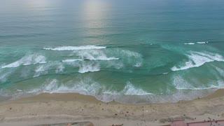 BEACH AERIAL FOOTAGE ..