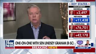 Lindsey Graham to Donate $500k To Trump Legal Defense Fund