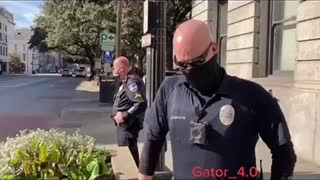 Savannah Police Target Freedom-Minded Citizens