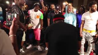 Video shoot with Jadakiss