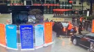 Bored Woman Escapes Quarantine In Car Boot