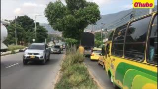 Madrugó a matarse en la vía Girón – Bucaramanga