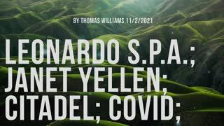 Leonardo S.p.A.; Janet Yellen; Citadel; Covid;