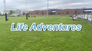 Flag football practice 4