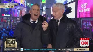 Anderson Cooper touts his manliness