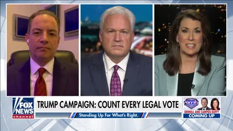 Trump campaign insists that every legal vote should be counted