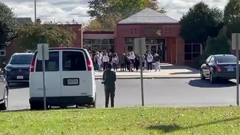 """Brave Students Stage Walkout And Did Chant """"Loudoun County Protects Rapists"""""""
