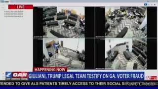 Video PROOF of Fraud in Georgia...