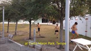 2017 Boss Cross Freshman Training at Curtis Hixon Park