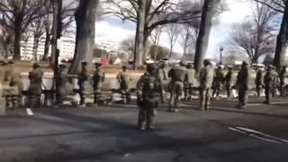 National guard turn back to Biden