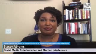 Stacey Abrams - Social Media Disinformation and Election Interference