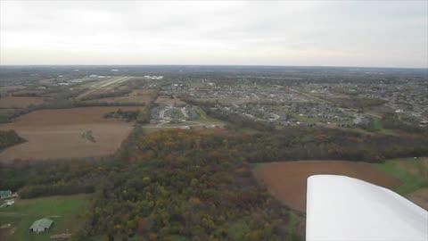 Flying Over Kansas