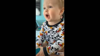 Children saying bad words, phrases FUNNY