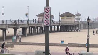 Huntington Beach a casual day