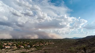 Massive Dust Storm Completely Engulfs City Of Phoenix
