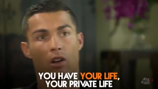 THE MOST IMPORTANT THING IN MY LIFE CRISTIANO RONALDO