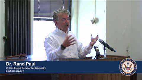 Dr. Rand Paul Visits Burkesville, Kentucky
