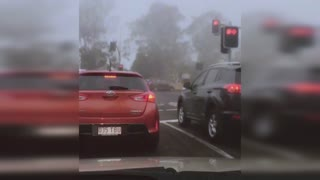 Driving Through Foggy Brisbane l Queensland Australia