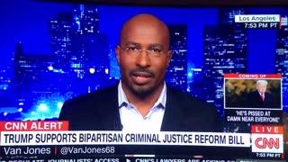 Van Jones praises Trump for criminal justice reform efforts