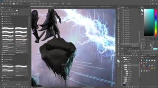 Fantasy Illustration | Digital Painting Timelapse