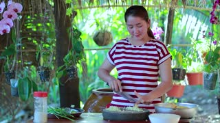 Amazing Yellow Chicken Rice Cooking Recipe - Cooking With Sros