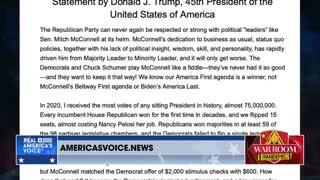 Epshteyn on Trump's statement about Mitch McConnell