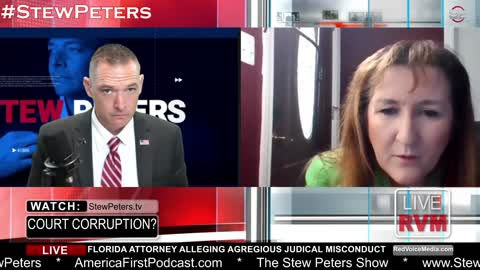 Stew Peters Slams Attorney LIVE On-Air, Uncovers Claims of Judicial Corruption