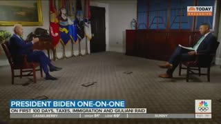 Biden Gives ABSURD Answer About Vaccinated People Wearing Masks