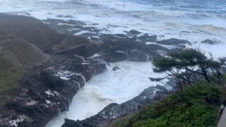 November 2020 Oregon coast storm
