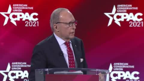 Kudlow on President Trump's Tax Cuts #CPAC2021