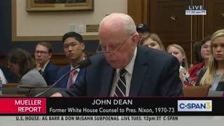 John Dean Mueller Report Testimony