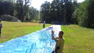 NorthWest Kids Village - Slip n' Slide activity
