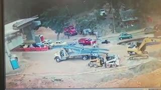 Conductor causó múltiple accidente en Floridablanca y huyó