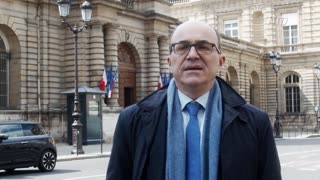 French Senator Reacts to Hong Kong Epoch Times Attack