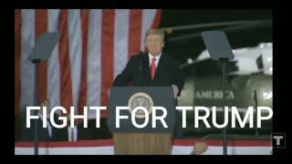 President Trump Dalton Georgia FIGHT FOR TRUMP!