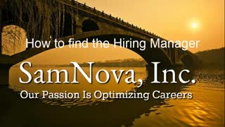 Optimize Your Career | How to Find the Hiring Manager