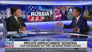 Rep. Matt Gaetz on storming impeachment hearings