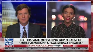 Tucker Carlson And Candace Owens Discuss Hispanic Republicans