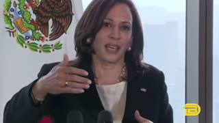 Kamala Harris questioned over not going to US-Mexico border